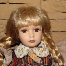 Muñecas Porcelana: ANTIGUA MUÑECA DE PORCELANA - 38CM - NUEVA, SIN USO - PERFECTO ESTADO. Lote 276915073