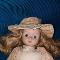 Muñecas Porcelana: ANTIGUA MUÑECA DE PORCELANA Y TRAPO, 42 CM. Lote 277184378