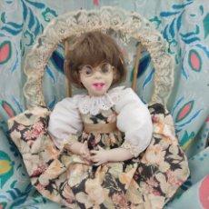 Muñecas Porcelana: MUÑECA PORCELANA AÑOS 90. Lote 278952478