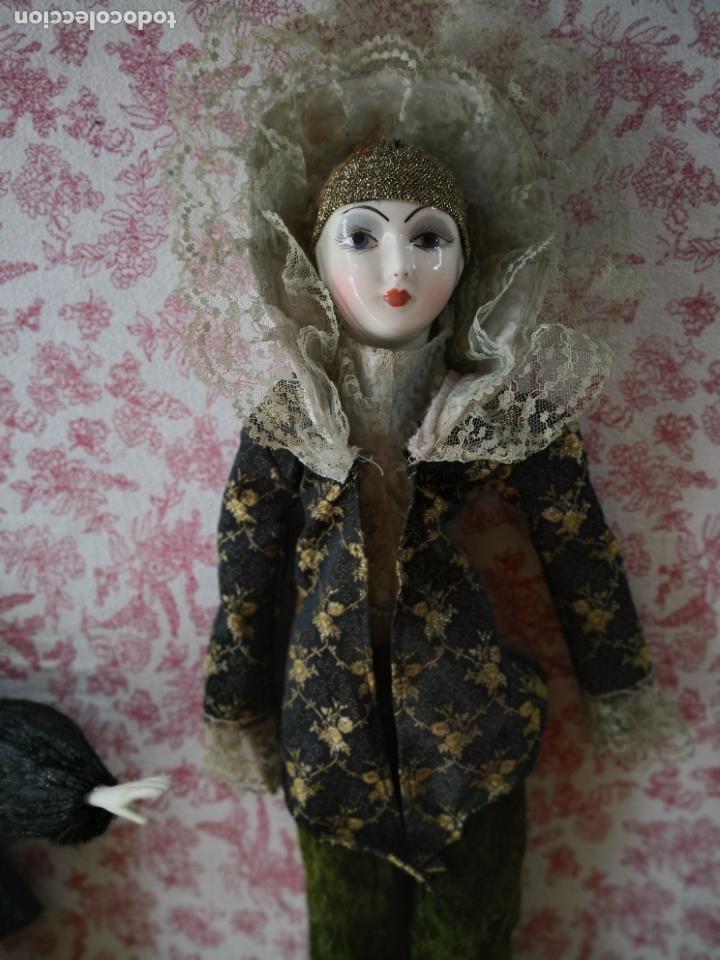 Muñecas Porcelana: Lote 2 muñecas porcelana y ceramica.desconocemos origen y antiguedad-Envío certificado gratuito - Foto 2 - 285554078