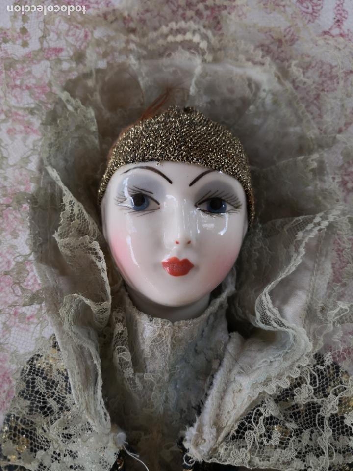 Muñecas Porcelana: Lote 2 muñecas porcelana y ceramica.desconocemos origen y antiguedad-Envío certificado gratuito - Foto 5 - 285554078