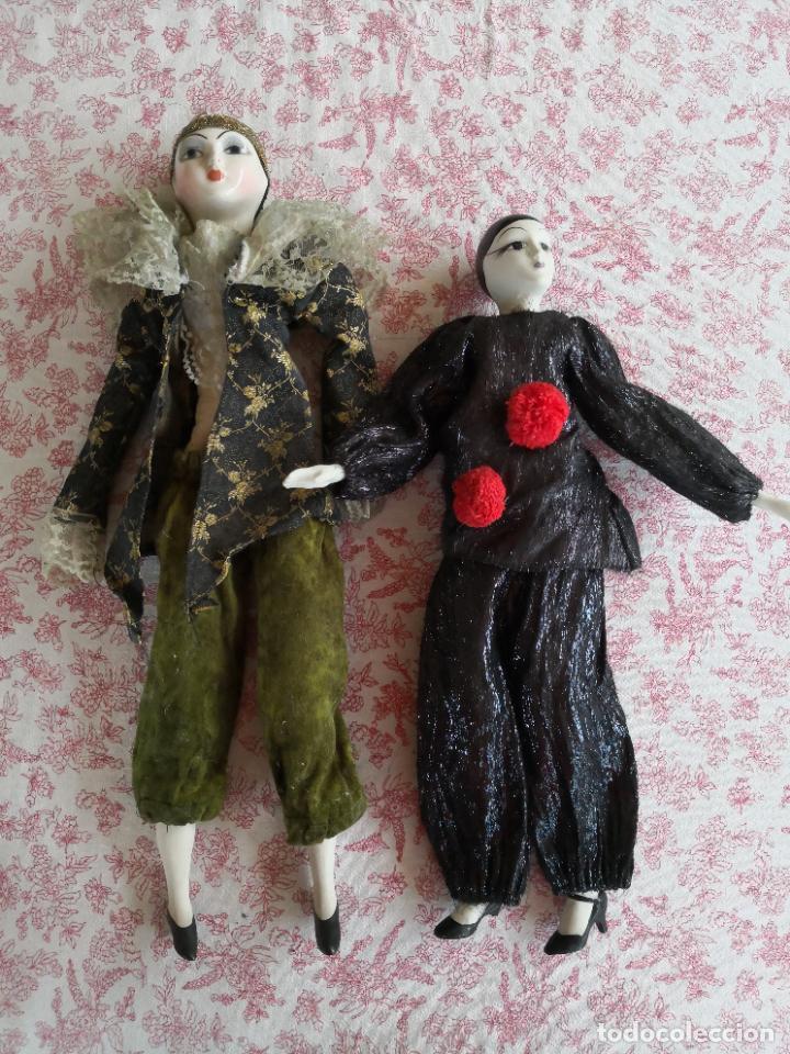 Muñecas Porcelana: Lote 2 muñecas porcelana y ceramica.desconocemos origen y antiguedad-Envío certificado gratuito - Foto 8 - 285554078