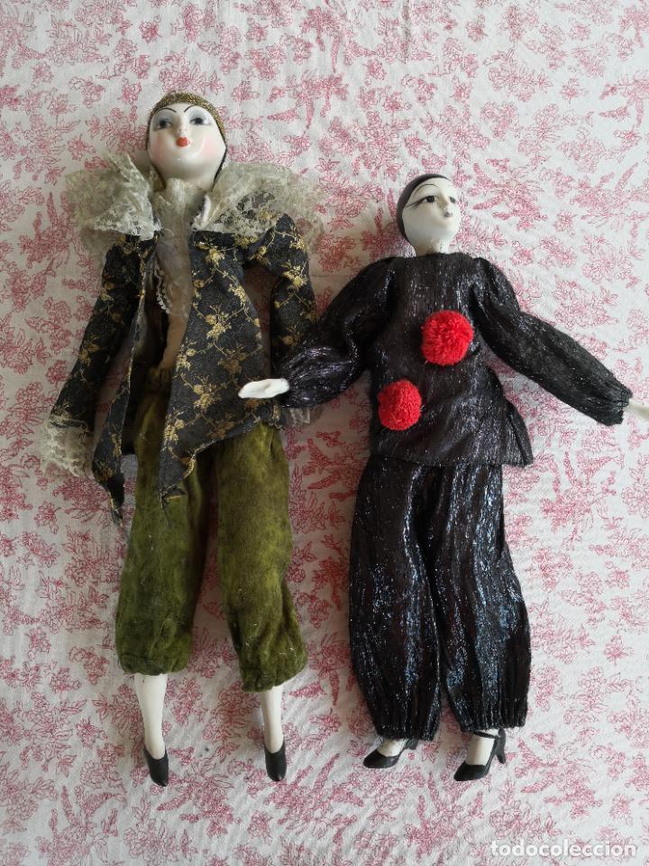Muñecas Porcelana: Lote 2 muñecas porcelana y ceramica.desconocemos origen y antiguedad-Envío certificado gratuito - Foto 9 - 285554078