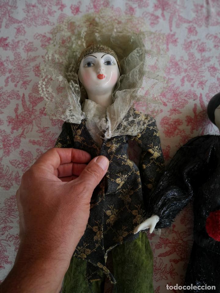 Muñecas Porcelana: Lote 2 muñecas porcelana y ceramica.desconocemos origen y antiguedad-Envío certificado gratuito - Foto 10 - 285554078