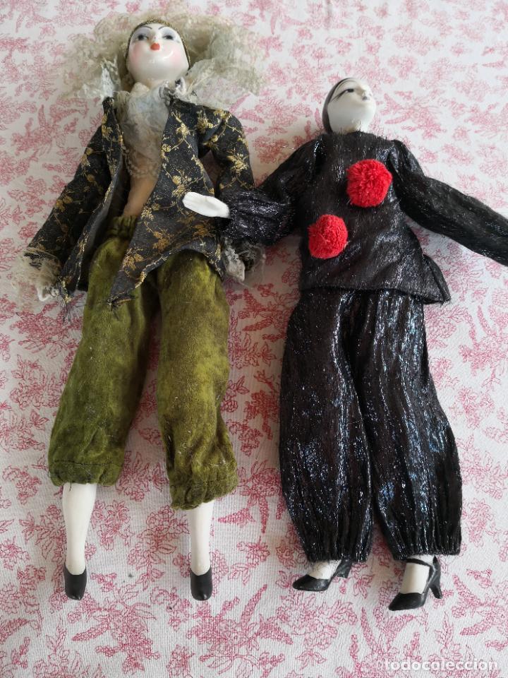 Muñecas Porcelana: Lote 2 muñecas porcelana y ceramica.desconocemos origen y antiguedad-Envío certificado gratuito - Foto 11 - 285554078
