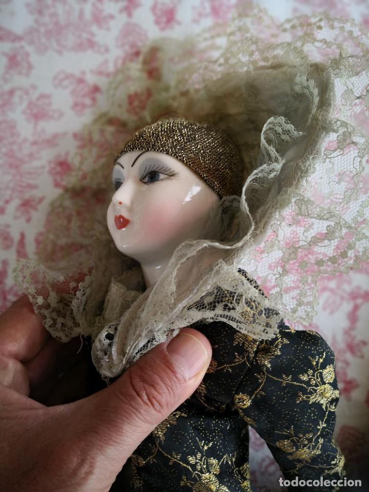 Muñecas Porcelana: Lote 2 muñecas porcelana y ceramica.desconocemos origen y antiguedad-Envío certificado gratuito - Foto 12 - 285554078