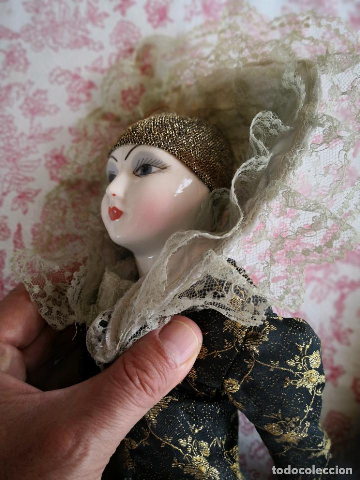 Muñecas Porcelana: Lote 2 muñecas porcelana y ceramica.desconocemos origen y antiguedad-Envío certificado gratuito - Foto 13 - 285554078