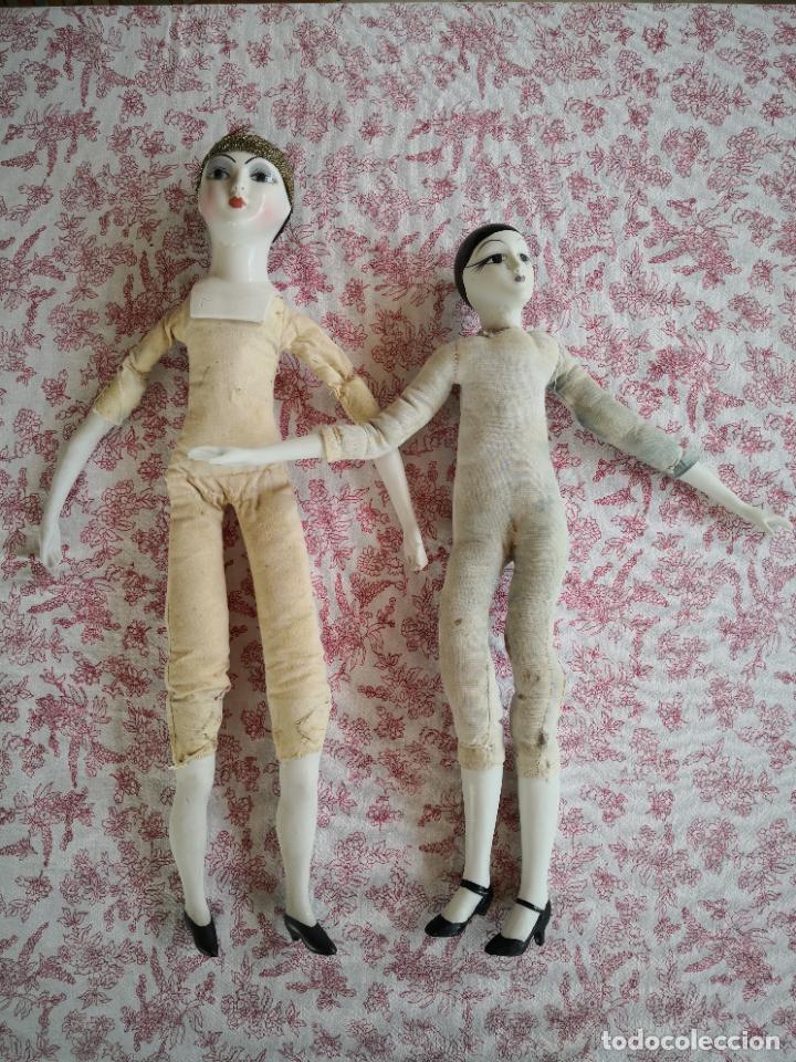 Muñecas Porcelana: Lote 2 muñecas porcelana y ceramica.desconocemos origen y antiguedad-Envío certificado gratuito - Foto 14 - 285554078