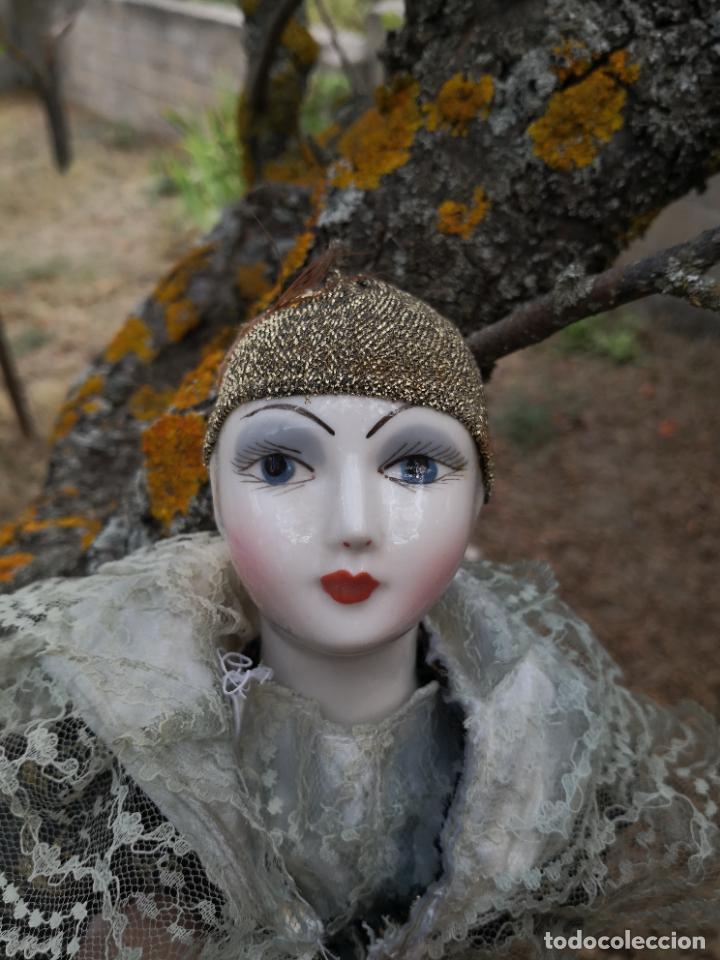 Muñecas Porcelana: Lote 2 muñecas porcelana y ceramica.desconocemos origen y antiguedad-Envío certificado gratuito - Foto 15 - 285554078