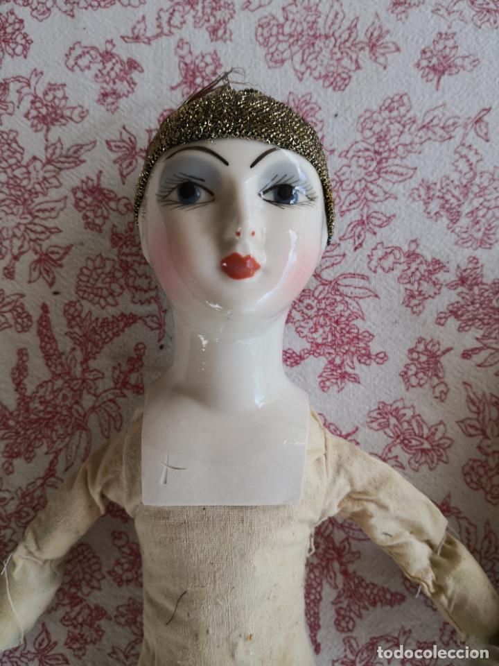 Muñecas Porcelana: Lote 2 muñecas porcelana y ceramica.desconocemos origen y antiguedad-Envío certificado gratuito - Foto 16 - 285554078
