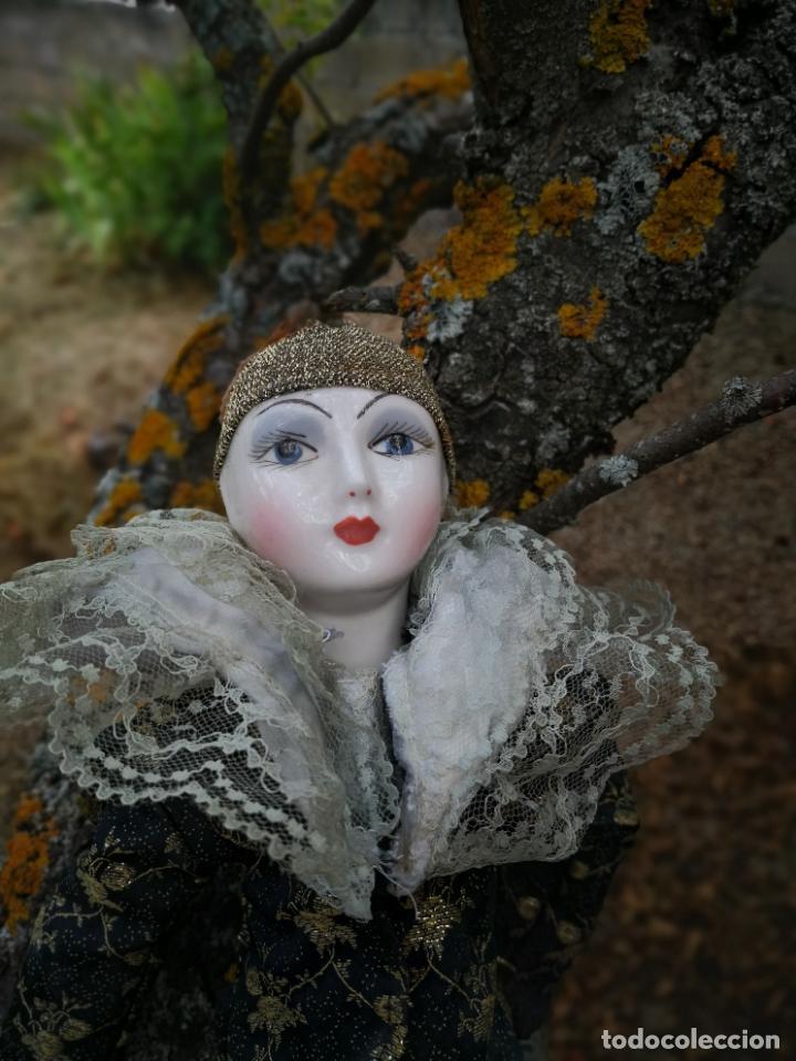 Muñecas Porcelana: Lote 2 muñecas porcelana y ceramica.desconocemos origen y antiguedad-Envío certificado gratuito - Foto 18 - 285554078