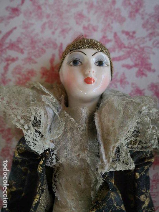 Muñecas Porcelana: Lote 2 muñecas porcelana y ceramica.desconocemos origen y antiguedad-Envío certificado gratuito - Foto 19 - 285554078