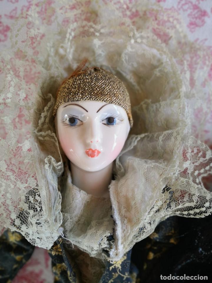 Muñecas Porcelana: Lote 2 muñecas porcelana y ceramica.desconocemos origen y antiguedad-Envío certificado gratuito - Foto 20 - 285554078