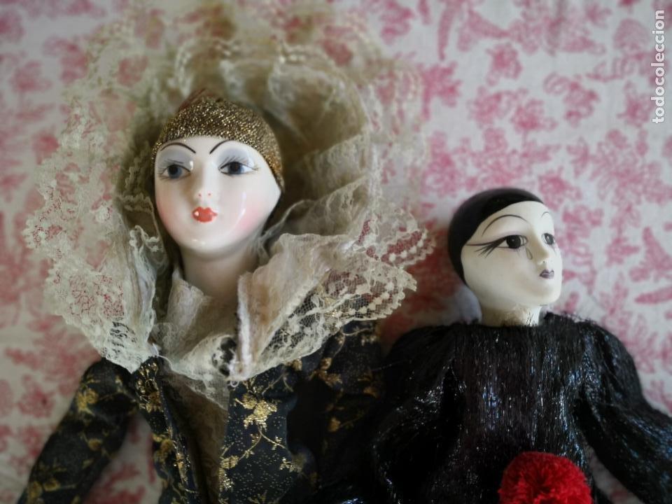 Muñecas Porcelana: Lote 2 muñecas porcelana y ceramica.desconocemos origen y antiguedad-Envío certificado gratuito - Foto 24 - 285554078