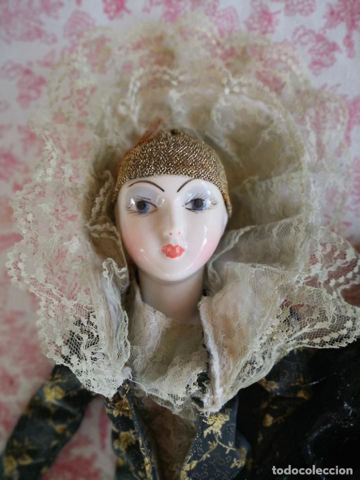 Muñecas Porcelana: Lote 2 muñecas porcelana y ceramica.desconocemos origen y antiguedad-Envío certificado gratuito - Foto 25 - 285554078