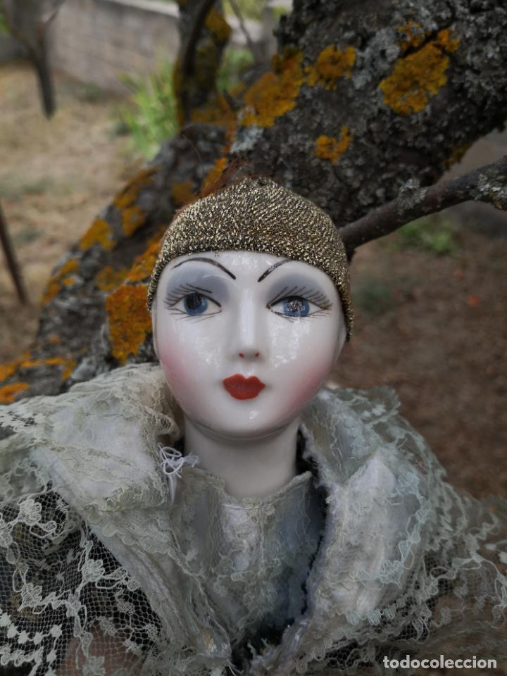 Muñecas Porcelana: Lote 2 muñecas porcelana y ceramica.desconocemos origen y antiguedad-Envío certificado gratuito - Foto 27 - 285554078