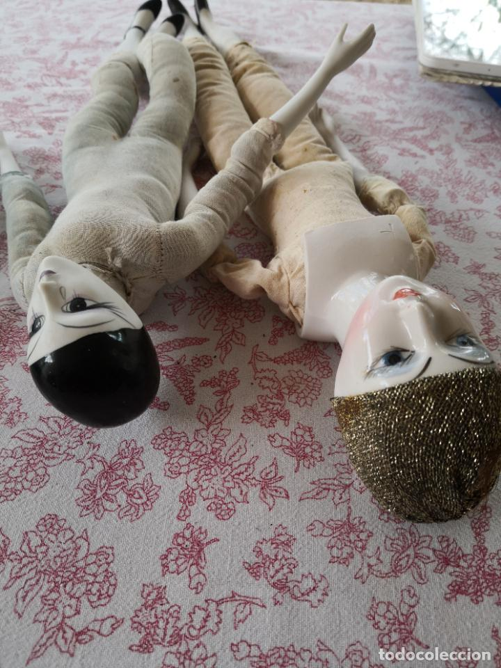 Muñecas Porcelana: Lote 2 muñecas porcelana y ceramica.desconocemos origen y antiguedad-Envío certificado gratuito - Foto 29 - 285554078