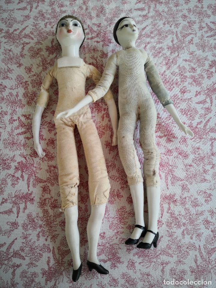 Muñecas Porcelana: Lote 2 muñecas porcelana y ceramica.desconocemos origen y antiguedad-Envío certificado gratuito - Foto 30 - 285554078