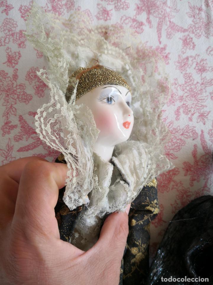 Muñecas Porcelana: Lote 2 muñecas porcelana y ceramica.desconocemos origen y antiguedad-Envío certificado gratuito - Foto 37 - 285554078