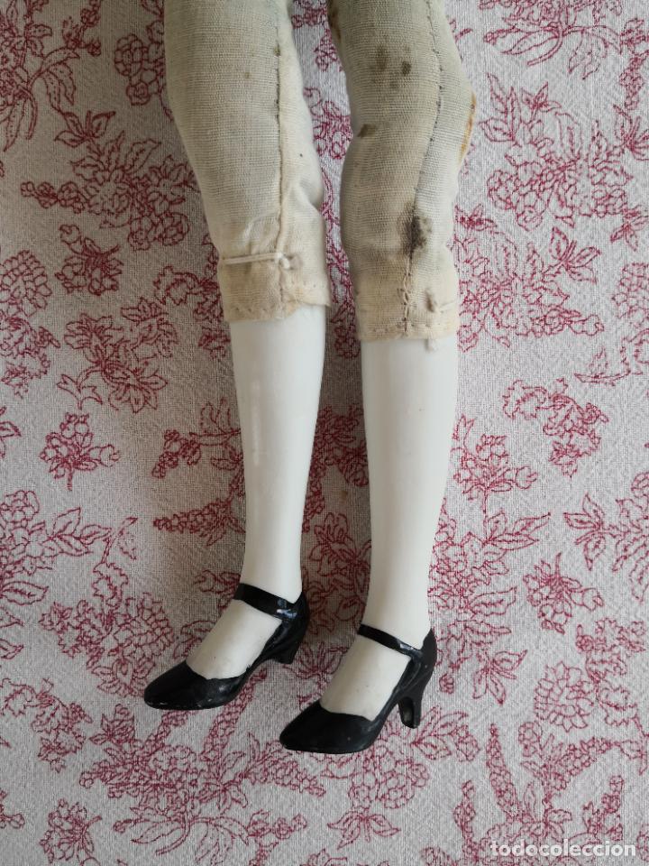 Muñecas Porcelana: Lote 2 muñecas porcelana y ceramica.desconocemos origen y antiguedad-Envío certificado gratuito - Foto 44 - 285554078