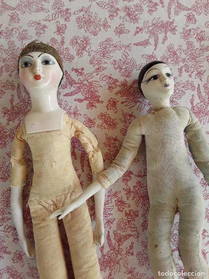 Muñecas Porcelana: Lote 2 muñecas porcelana y ceramica.desconocemos origen y antiguedad-Envío certificado gratuito - Foto 58 - 285554078