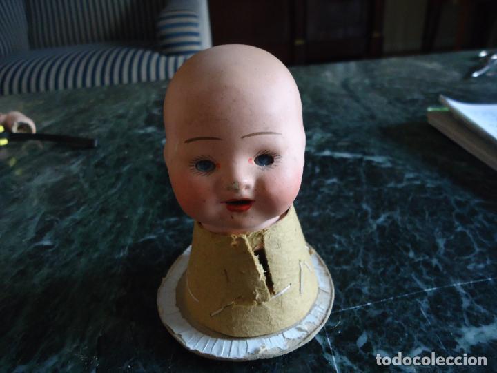 Muñecas Porcelana: Pequeña y simpática cabeza de muñeca/o bebé porcelana ojos durmientes - Foto 8 - 285648343