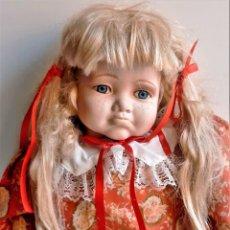 Muñecas Porcelana: MUÑECA PORCELANA GRANDE - 66.CM ALTOA APROX. Lote 285736783