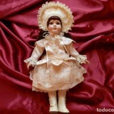 "Poupées Porcelaine: ANTIGUA MUÑECA DE PORCELANA (AMERICAN CLASSICS COLLECTION) ""ROBERTA JUNE DOLL"" 45 CM. APROX.. Lote 285964283"