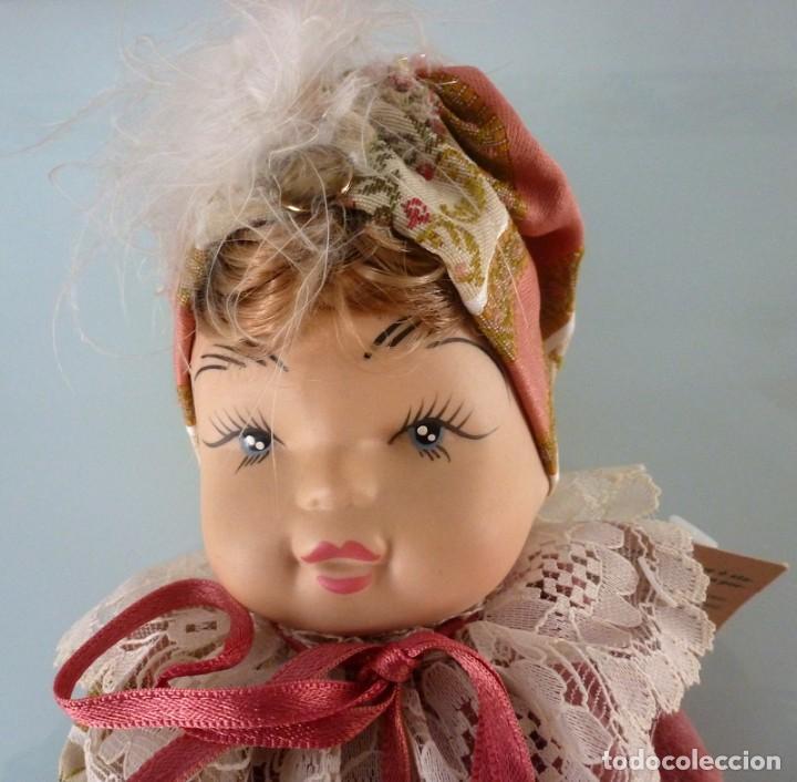 Muñecas Porcelana: Muñeca italiana de porcelana -Foto 893 - Medidas 24 X 11 cts.Peso 520 grs - Foto 3 - 285985053