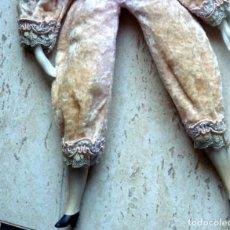 Muñecas Porcelana: ARLEQUIN, PORCELANA INGLESA - FOTO 846- DE 32CTS.ALTO-PESO350 GRS-CERTIFICADO 5,95. Lote 285989698
