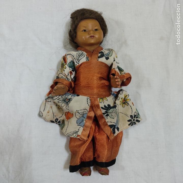 Muñecas Porcelana: PRECIOSA MUÑECA JAPONESA VESTIDO DE ORIGEN 2062 B (5039/21) - Foto 2 - 286292923