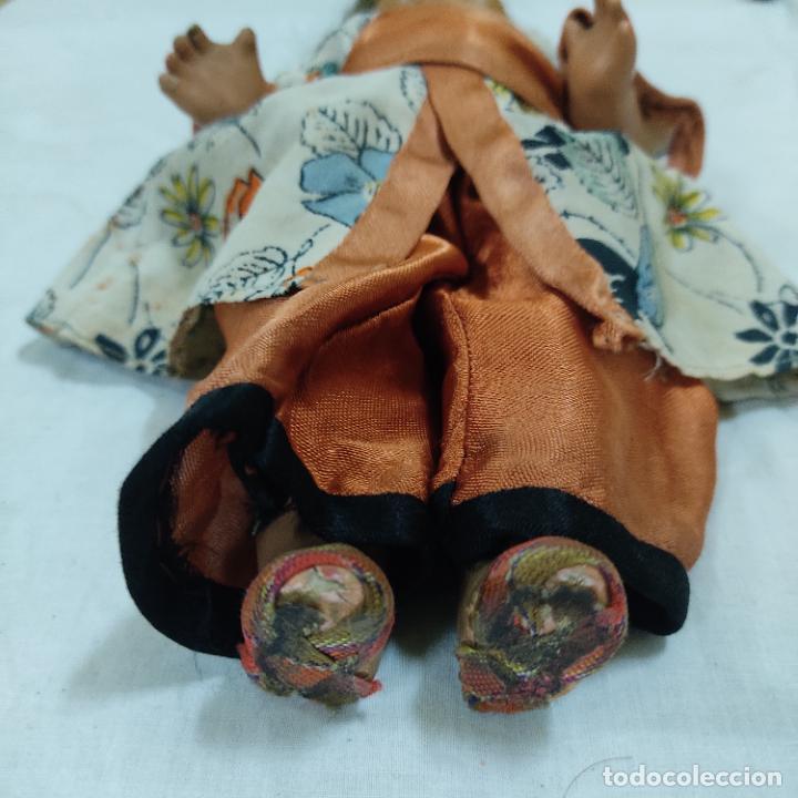 Muñecas Porcelana: PRECIOSA MUÑECA JAPONESA VESTIDO DE ORIGEN 2062 B (5039/21) - Foto 3 - 286292923