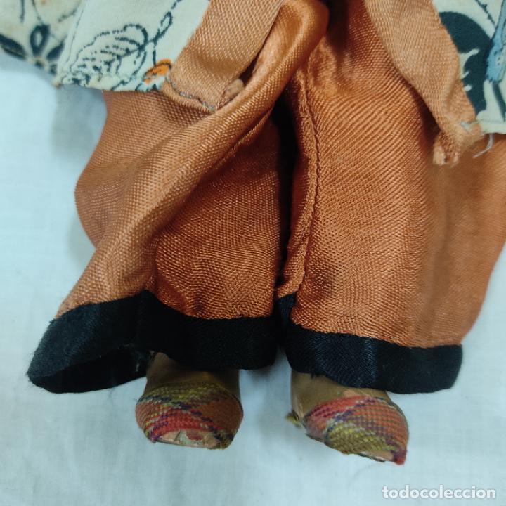 Muñecas Porcelana: PRECIOSA MUÑECA JAPONESA VESTIDO DE ORIGEN 2062 B (5039/21) - Foto 4 - 286292923
