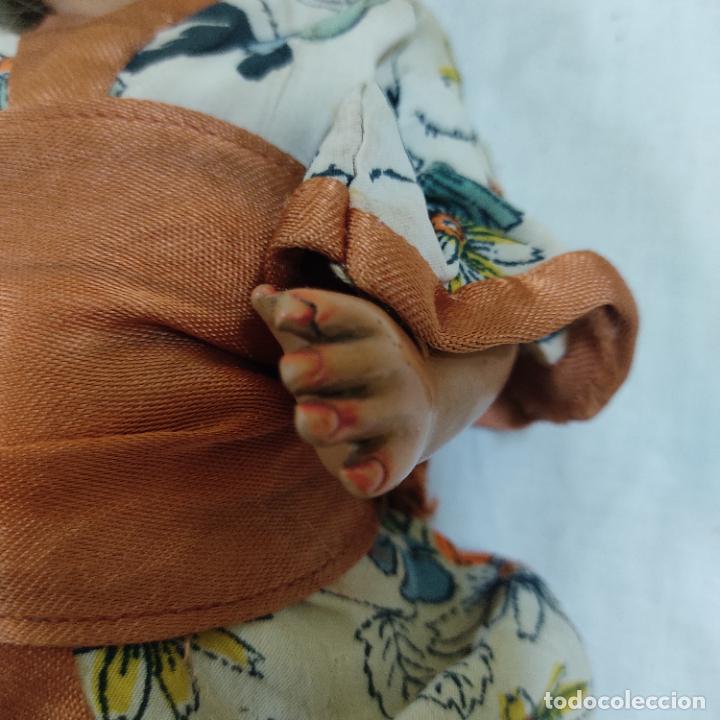 Muñecas Porcelana: PRECIOSA MUÑECA JAPONESA VESTIDO DE ORIGEN 2062 B (5039/21) - Foto 6 - 286292923