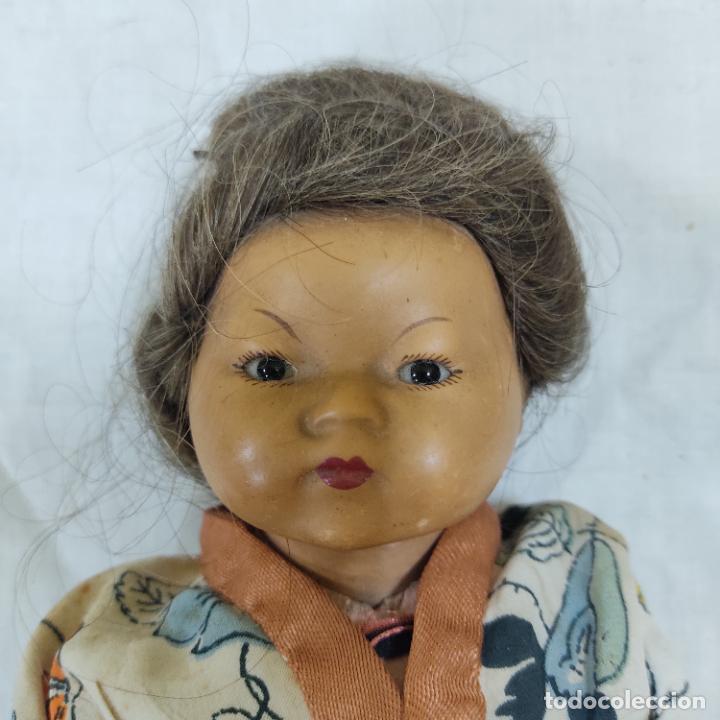 Muñecas Porcelana: PRECIOSA MUÑECA JAPONESA VESTIDO DE ORIGEN 2062 B (5039/21) - Foto 8 - 286292923