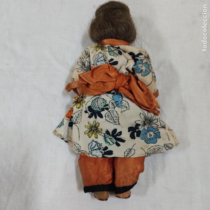 Muñecas Porcelana: PRECIOSA MUÑECA JAPONESA VESTIDO DE ORIGEN 2062 B (5039/21) - Foto 9 - 286292923