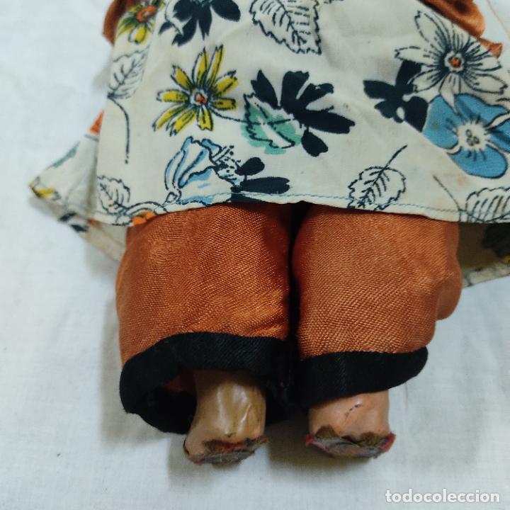 Muñecas Porcelana: PRECIOSA MUÑECA JAPONESA VESTIDO DE ORIGEN 2062 B (5039/21) - Foto 10 - 286292923