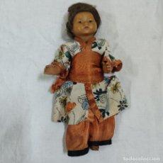 Muñecas Porcelana: PRECIOSA MUÑECA JAPONESA VESTIDO DE ORIGEN 2062 B (5039/21). Lote 286292923