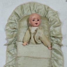 Muñecas Porcelana: MONTAJE PARA CAMISON CON CABEZA DE MUÑECO (5042/21). Lote 286293453