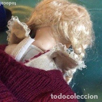 Muñecas Porcelana: Muñeca grande de porcelana indumentaria campestre - Foto 12 - 287066478
