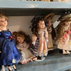 Muñecas Porcelana: LOTE DE MUÑECAS DE PORCELANA. Lote 287090938
