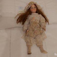Muñecas Porcelana: MUÑECA ANTIGUA. Lote 288024223