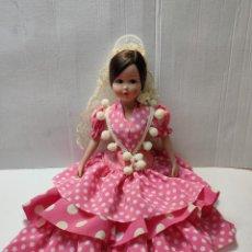 Muñecas Porcelana: MUÑECA GITANA PORCELANA MARÍN CHICLANA GRANDE 32 CM. Lote 288194878