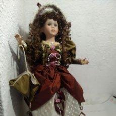 Muñecas Porcelana: MUÑECA PORCELANA 57 CM.. Lote 289735653
