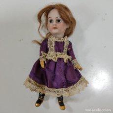 Muñecas Porcelana: CURIOSA MUÑECAPORCELA Y CUERPO COMPOSICIÓN (5317/21). Lote 291413698