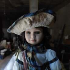 Muñecas Porcelana: MUÑECA PORCELANA EXTRANJERA. Lote 294442523