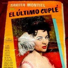 Catálogos de Música: ANTIGUO CANCIONERO DE SARITA MONTIEL. Lote 900235