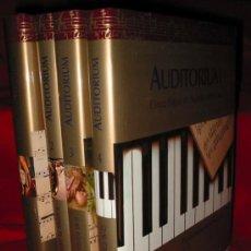 Catálogos de Música: AUDITORIUM. CINCO SIGLOS DE MUSICA INMORTAL. 4 TOMOS. AUT: NAVARRO JOAQUIN (DIR) Y AAVV. Lote 13203074