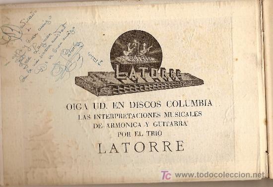 Catálogos de Música: La armonica y sus secretos a tu alcance / F. Latorre. Dedicatoria del autor - Foto 2 - 5476644