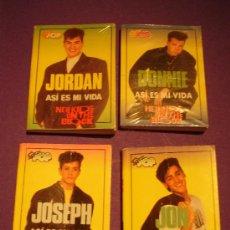Catálogos de Música: LOTE DE 4 MINILIBROS DE SUPER POP : JORDAN, DONNIE, JOSEPH Y YON.. Lote 16553359